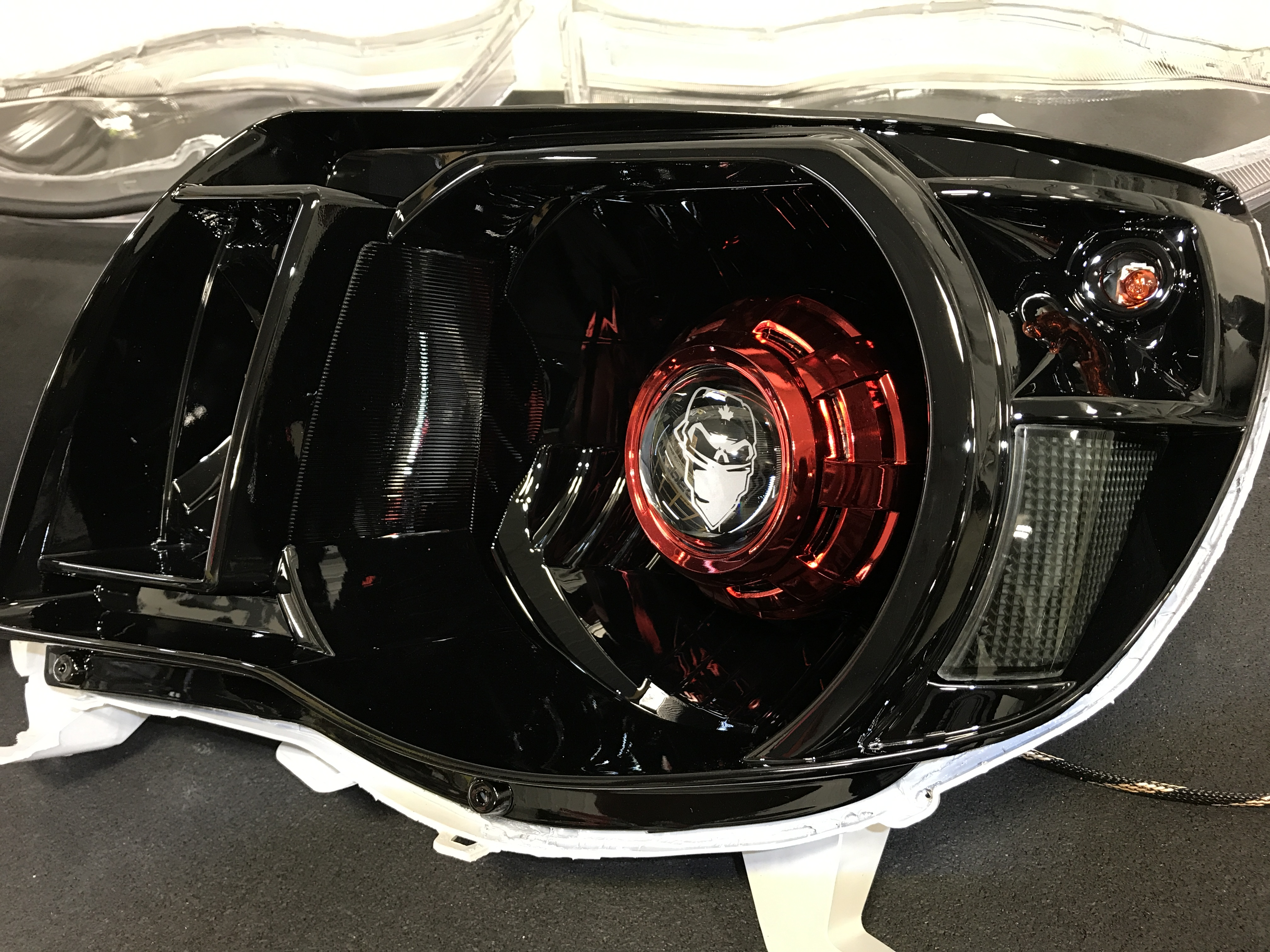 Custom Painted Dodge Ram Headlight Housings