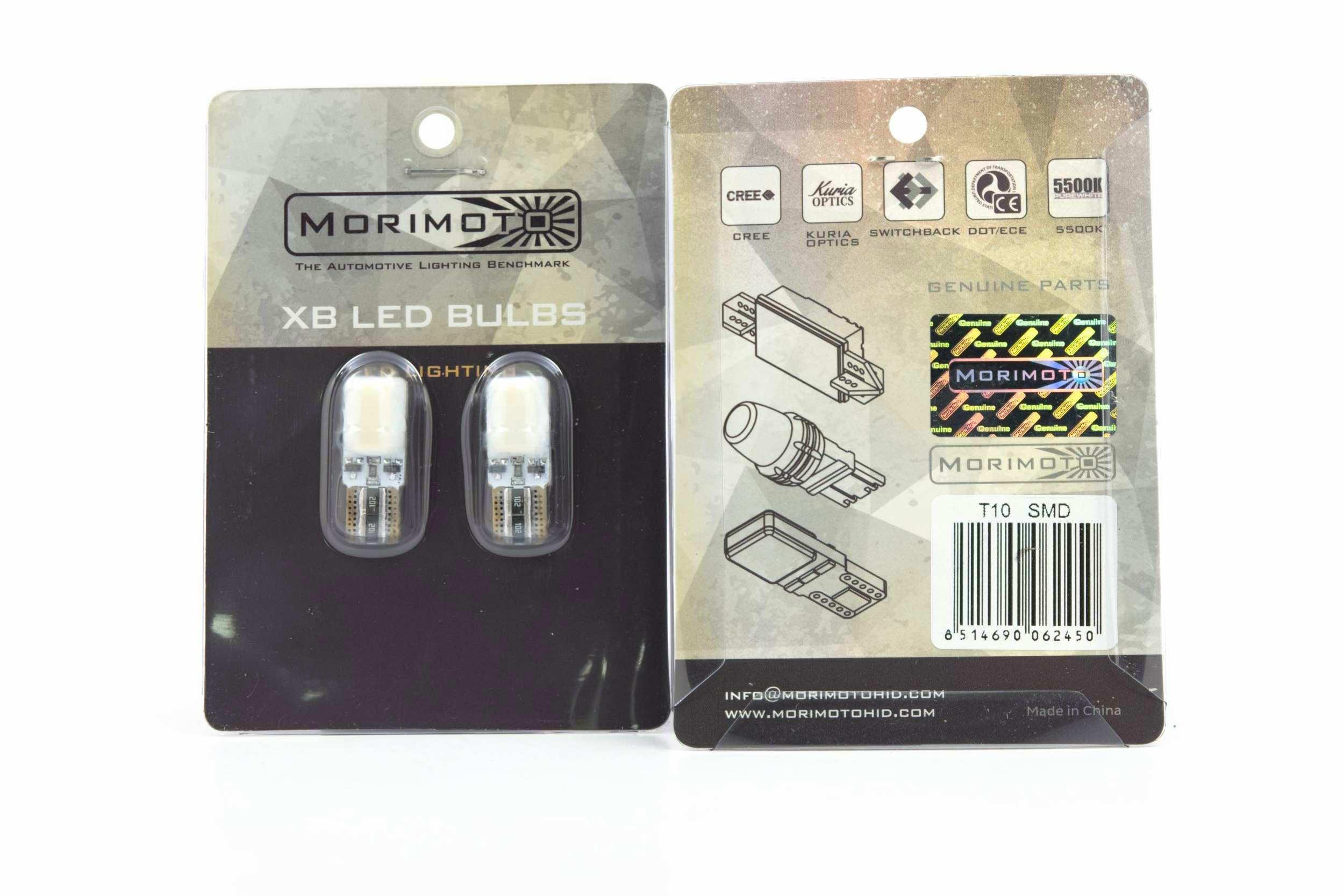 Morimoto T10 194 XB LED Bulbs 1
