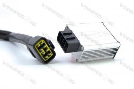 Morimoto 9007 Bixenon Headlight Relay Wire Harness 3
