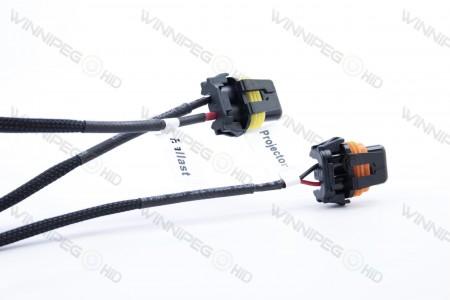 Morimoto 9007 Bixenon Headlight Relay Wire Harness 4