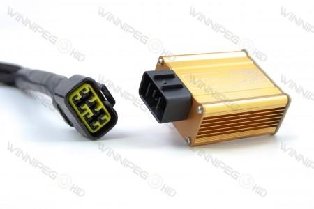 Morimoto H4 Bixenon Headlight Relay Wire Harness 3