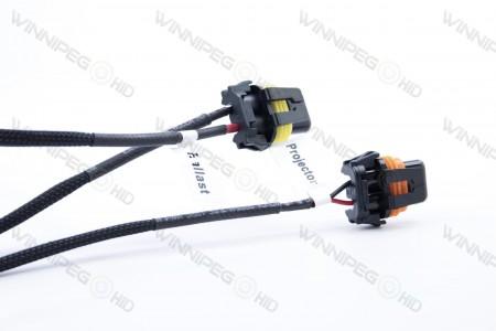 Morimoto Mopar 9007 Bi-xenon Canbus Headlight Harness 4