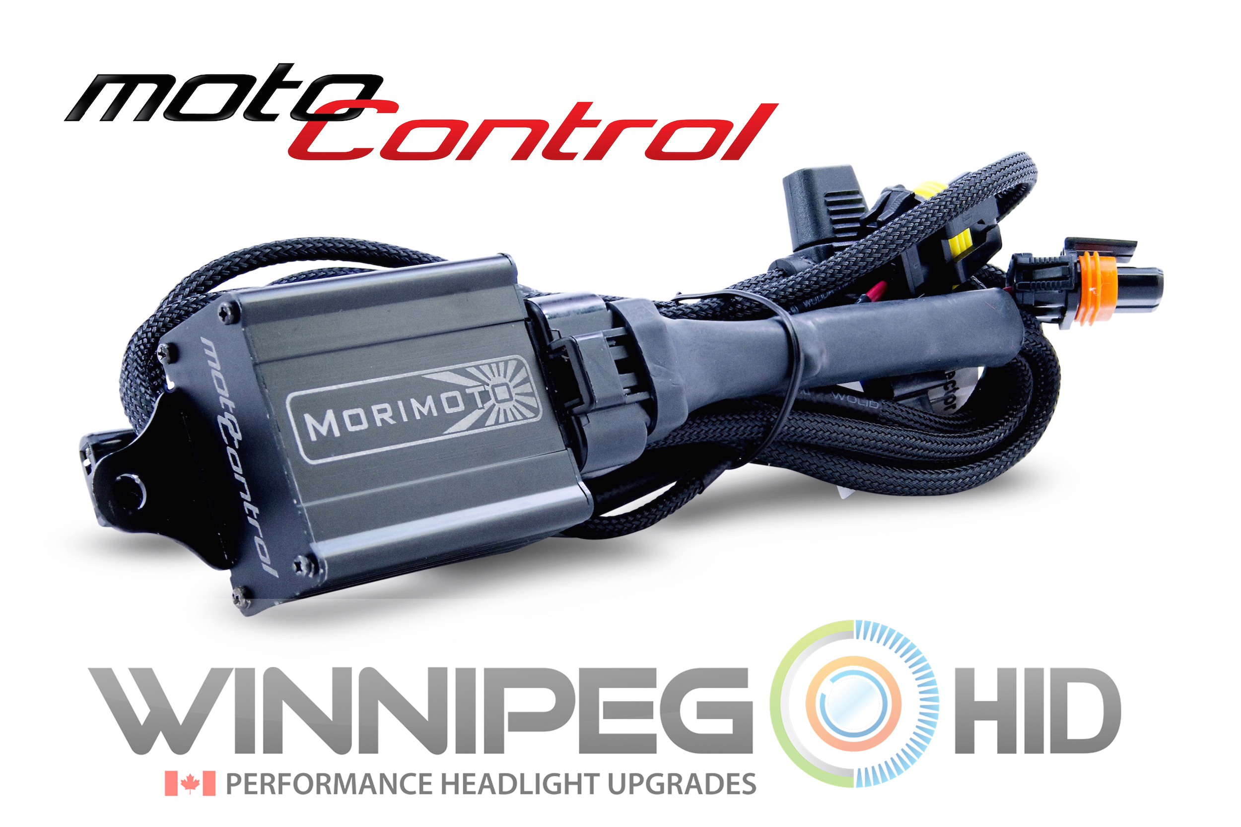 H13 9008 Morimoto Elite Bi Xenon Hid System Winnipeg High Low Relay Wiring Diagram Motocontrol Harness 1