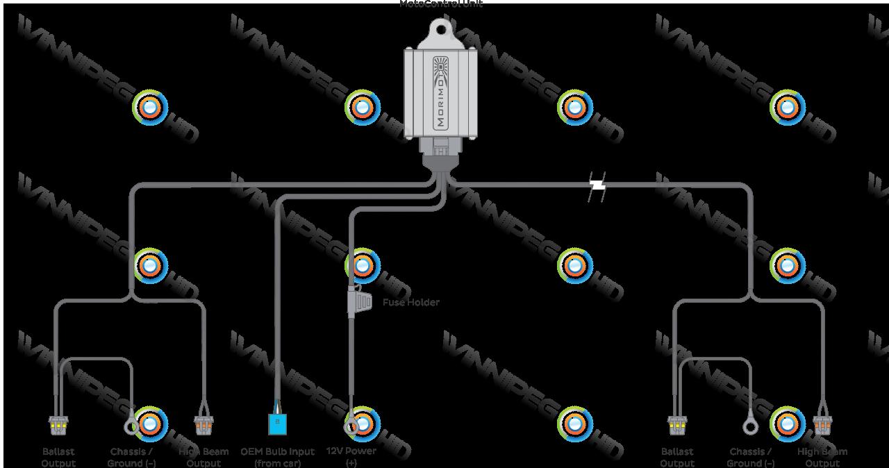9007 hid wiring diagram hi lo