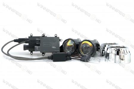 Bi-xenon Morimoto Mini H1 7.0 Stage III Headlight Retrofit Kit (1)