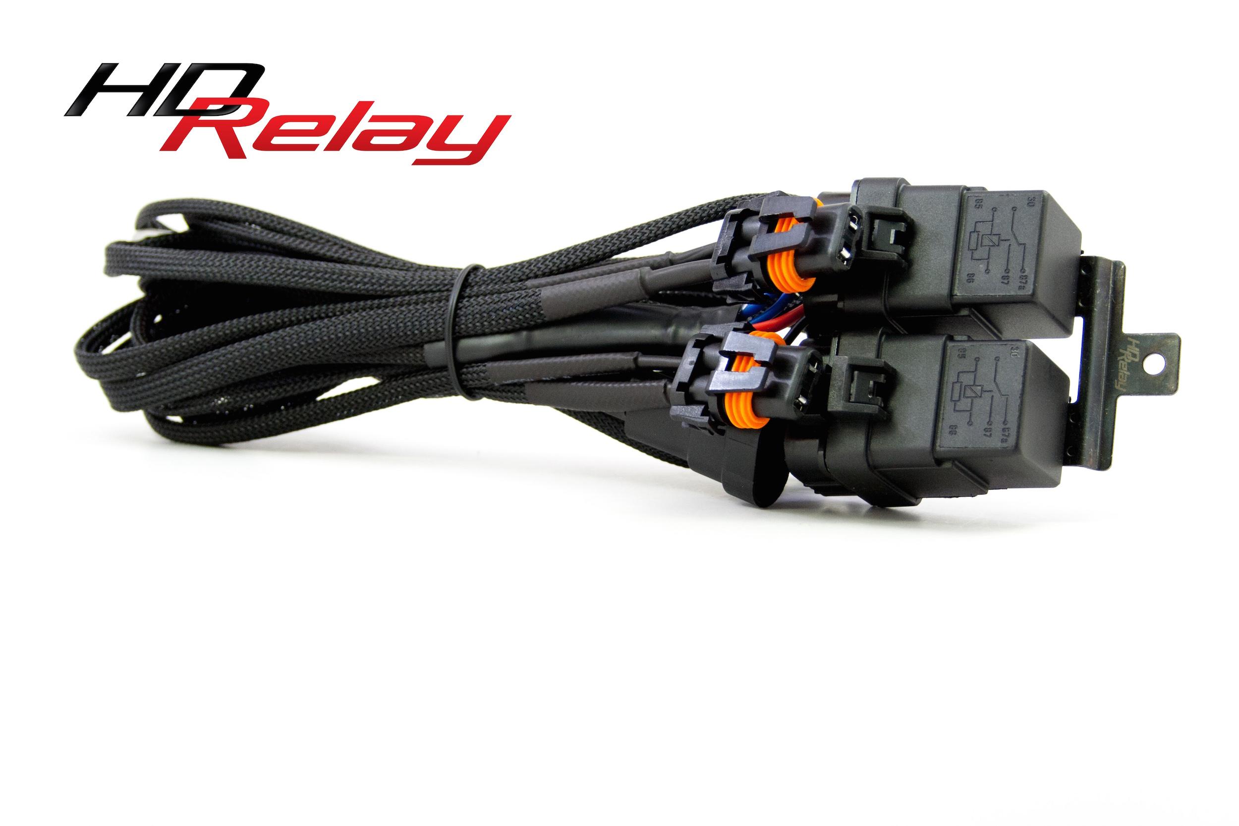 Morimoto 9005 9006 H10 HD Relay Harness 1