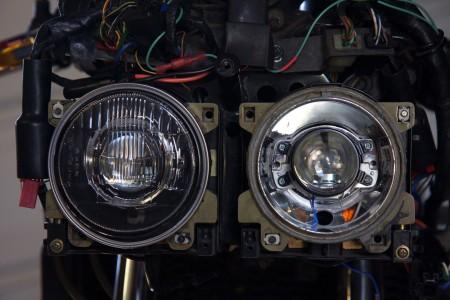 Morimoto Matchbox Bi-xenon Projectors Action 1