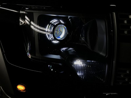 Ford Raptor w/Morimoto XSB Switchback LED Halos