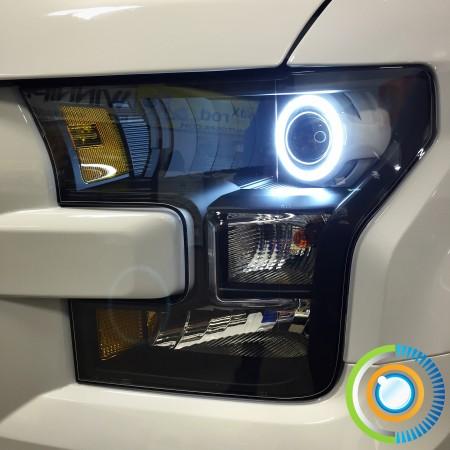 2015 F-150 Headlights w/Morimoto XSB Switchback LED Halos