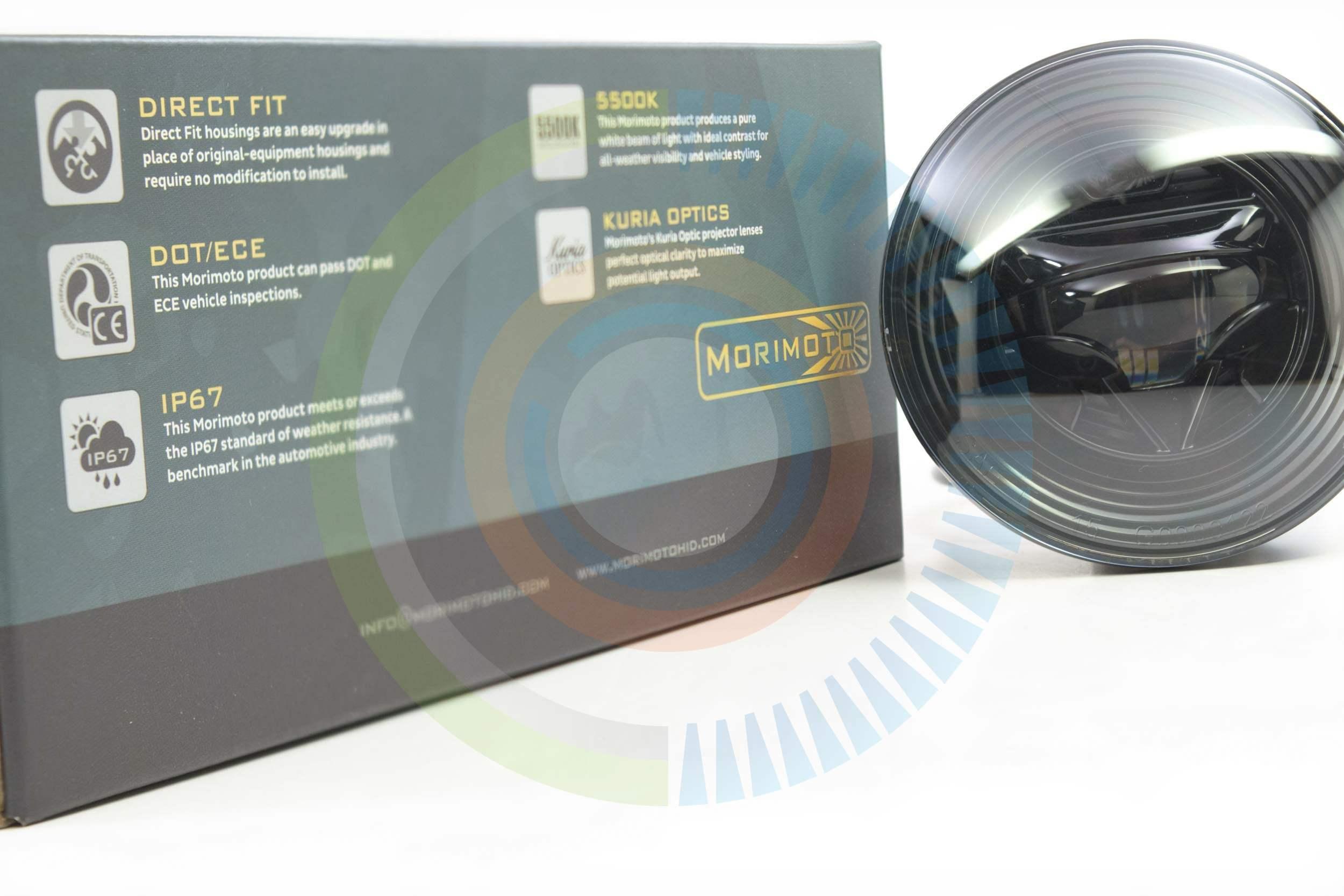 Morimoto Xb Led Fog Lights Gmc Winnipeg Hid Wiring Harness 2007 2013 Sierra Pickup Plug And Play Light Type Gm 5