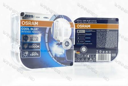 D2S Osram 66240 CBI HID Headlight Bulbs 7