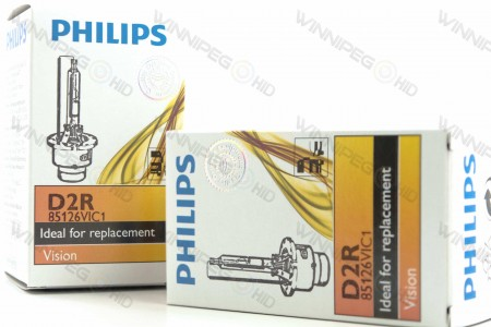 Philips 86126 D2R HID Headlight Bulbs 2