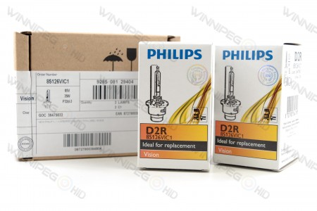 Philips 86126 D2R HID Headlight Bulbs 6