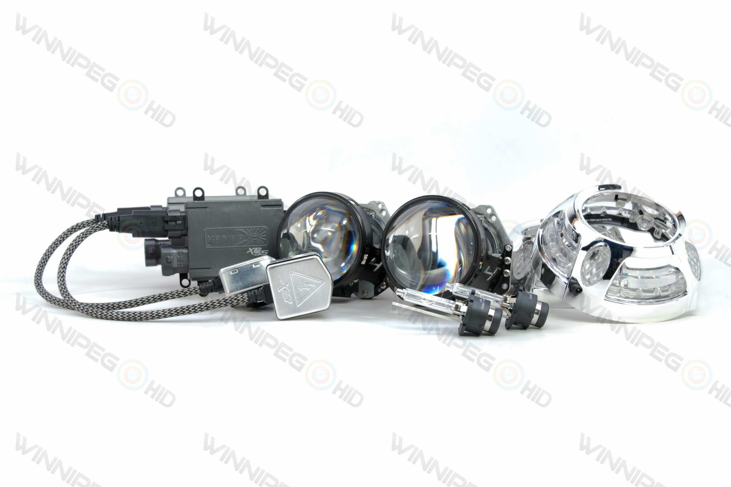 Bi Xenon Morimoto Mini D S Stage Iii Headlight Retrofit Kit on Hid Relay Harness Install