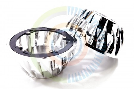 Mini Turbine HID Headlight Retrofit Projector Shrouds 5