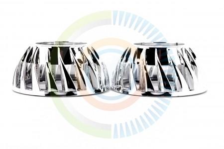 Mini Turbine HID Headlight Retrofit Projector Shrouds 6