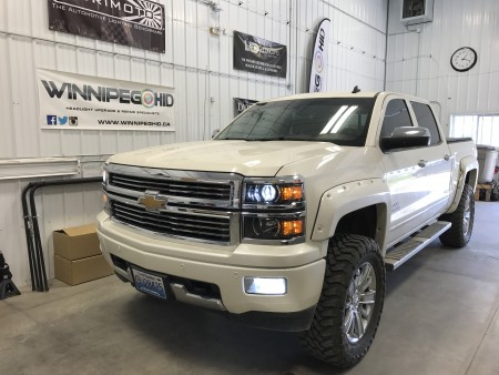 2015 Silverado w/LED headlights & fog lights