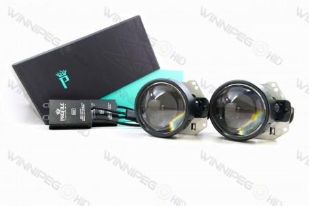 Profile Bi-Lens Bi-LED Headlight Retrofit Projector 3