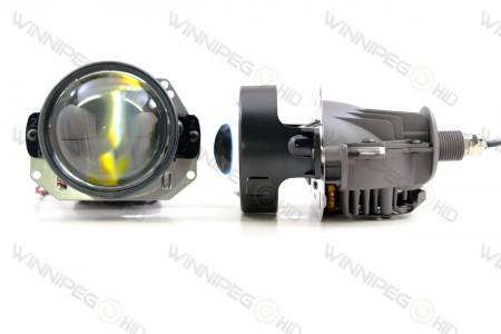 Profile Bi-Lens Bi-LED Headlight Retrofit Projector 5