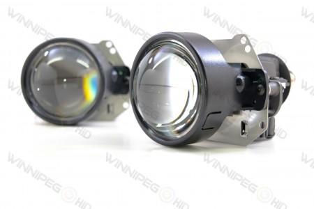 Profile Bi-Lens Bi-LED Headlight Retrofit Projector 6