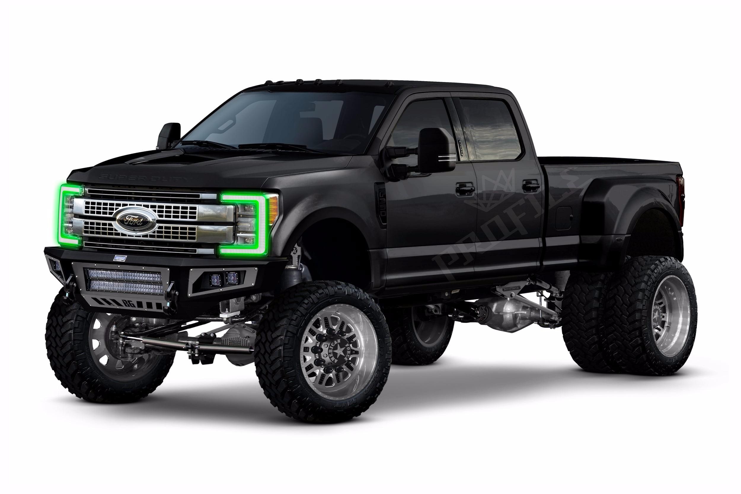 Ford Super Duty 2017 Profile Pixel Drl Boards Rgbwa