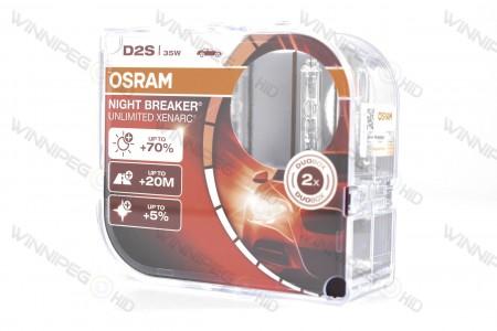 D2S Osram Xenarc 66240NXB Nightbreaker HID Xenon Headlight Bulbs 2
