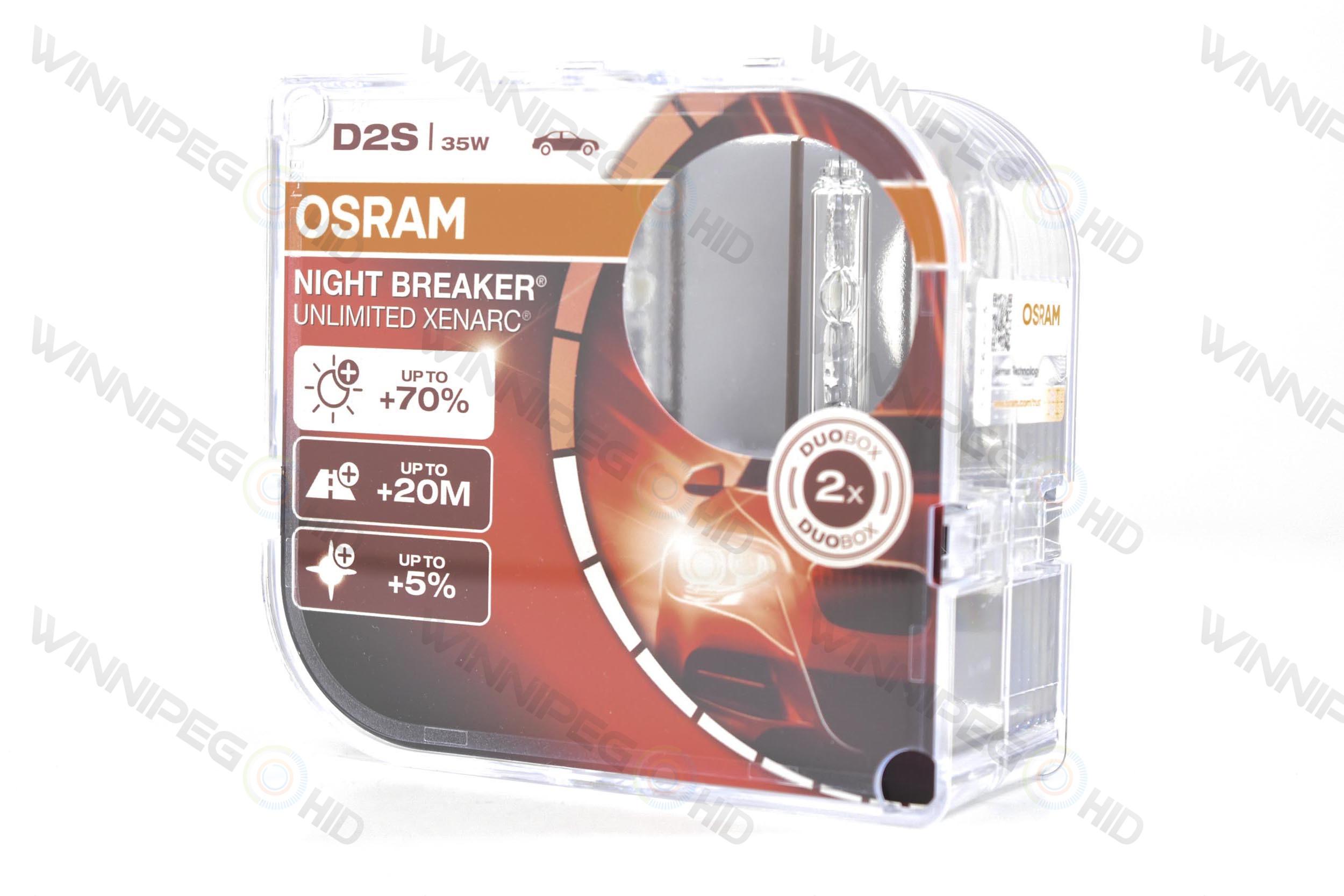 D2s Osram Xenarc 66240 Night Breaker 4200k Winnipeg Hid