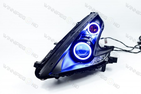 Profile Prism RGB LED Headlight Halos Action 3