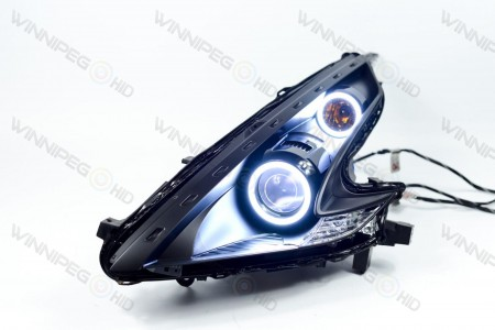 Profile Prism RGB LED Headlight Halos Action 4