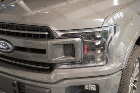 2018+ Ford F150 Morimoto XB LED Headlights Action 1