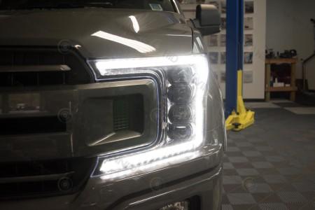 2018+ Ford F150 Morimoto XB LED Headlights Action 2