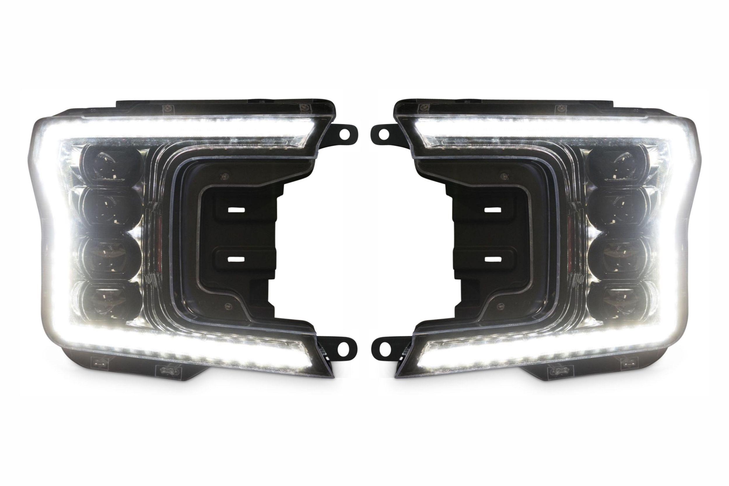 2018+ Ford F150 Morimoto XB LED Quad Projector Headlights 4