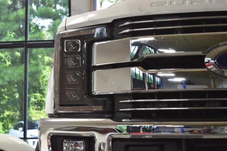2017 Ford Superduty LED Headlights Morimoto XB LED Action 1