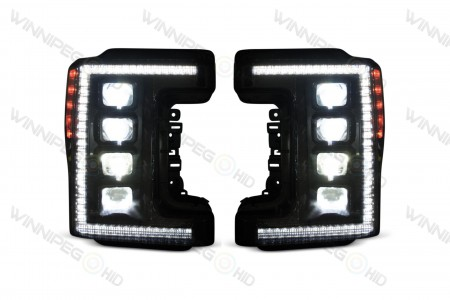 Super Duty XB LED Headlights High Beam