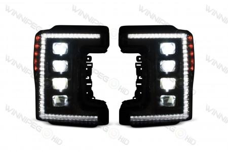 Super Duty XB LED Headlights Low Beam