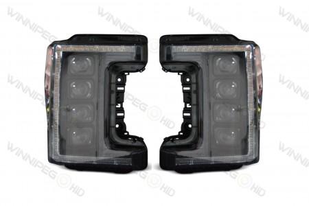 Super Duty XB LED Headlights Off