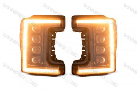 Super Duty XB LED Headlights Turn