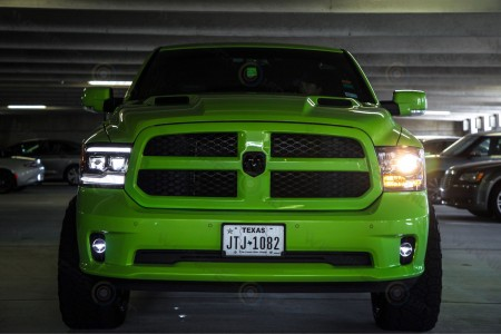 Dodge Ram LED Projector Headlights Morimoto XB Action 2