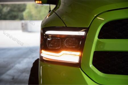 Dodge Ram LED Projector Headlights Morimoto XB Action 4