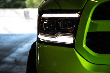 Dodge Ram LED Projector Headlights Morimoto XB Action 5