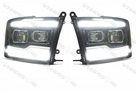 Dodge Ram XB LED Headlights DRL