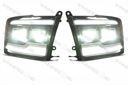 Dodge Ram XB LED Headlights High Beam