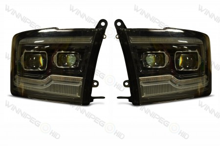 Dodge Ram XB LED Headlights Off
