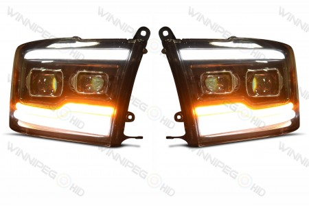 Dodge Ram XB LED Headlights Park and Turn