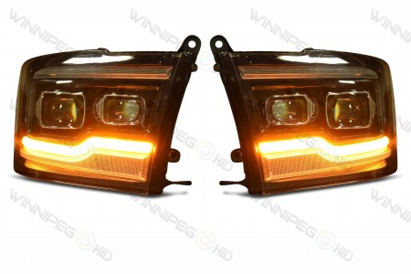 Dodge Ram XB LED Headlights Turn