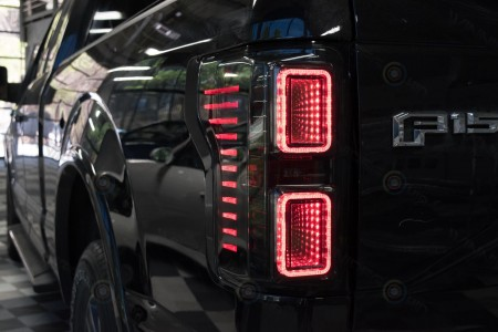 Morimoto XB LED 2015 Ford F150 Tail Lights Action 1