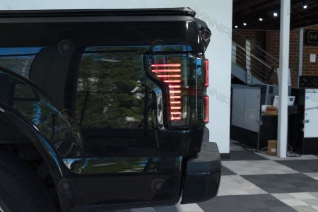 Morimoto XB LED 2015 Ford F150 Tail Lights Action 4