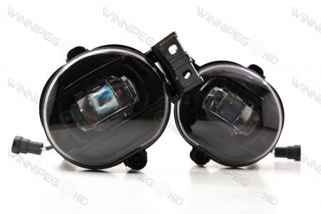 Type Ram Oval Morimoto XB LED Projector Fog Lights 4
