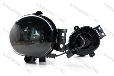 Type Ram Oval Morimoto XB LED Projector Fog Lights 5