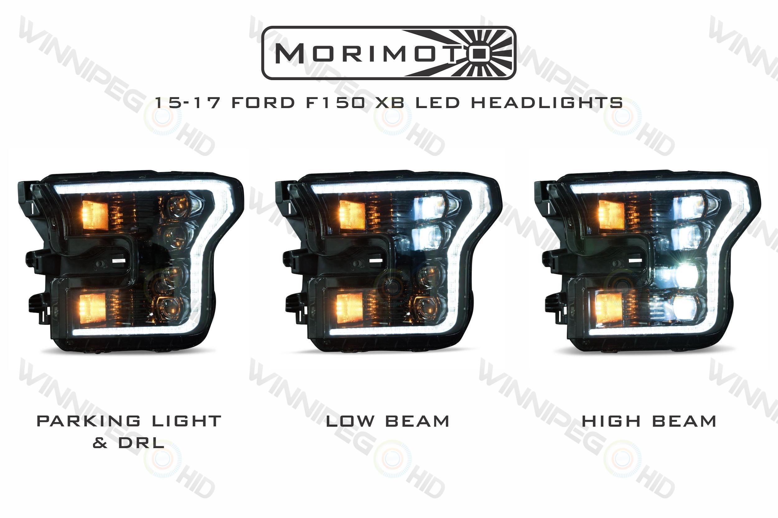 Ford F150 (15-17): XB LED Headlights | Winnipeg HID Online Store